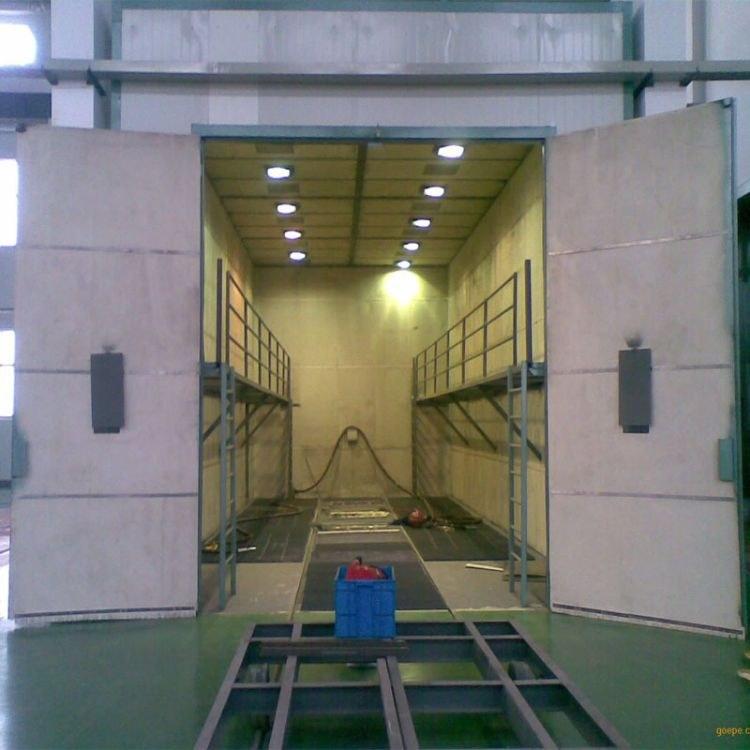 機械回收式噴砂房 品牌供應噴砂房 適應于一些大型工件表面清理除銹