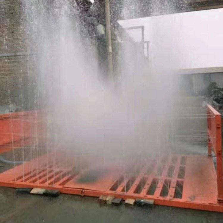 大吨位工程洗轮机 水循环车辆洗车机 环保工地冲洗设备