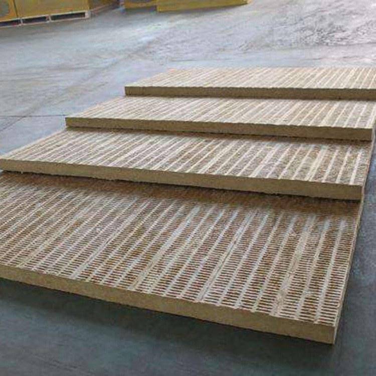 正丰公司专业生产销售憎水岩棉板 家装建材保温板 外墙防火隔热保温板 复合岩棉板
