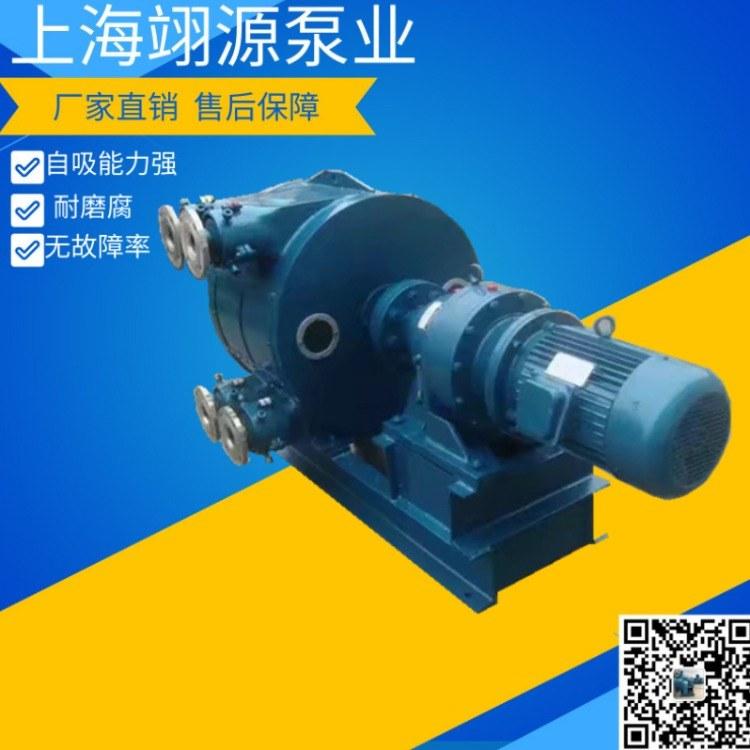RGB不锈钢软管泵 耐酸碱浓浆化工泵 高粘度卧式挤压泵 排量大 效率高