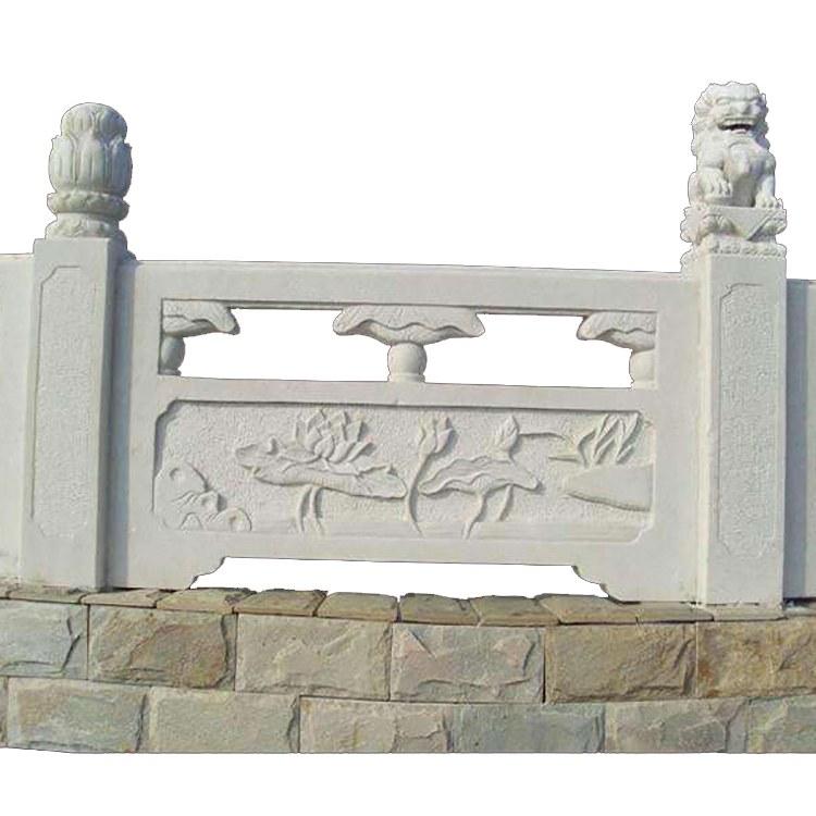 护城河栏杆口碑好阑珊石材护栏石栏板加工建安