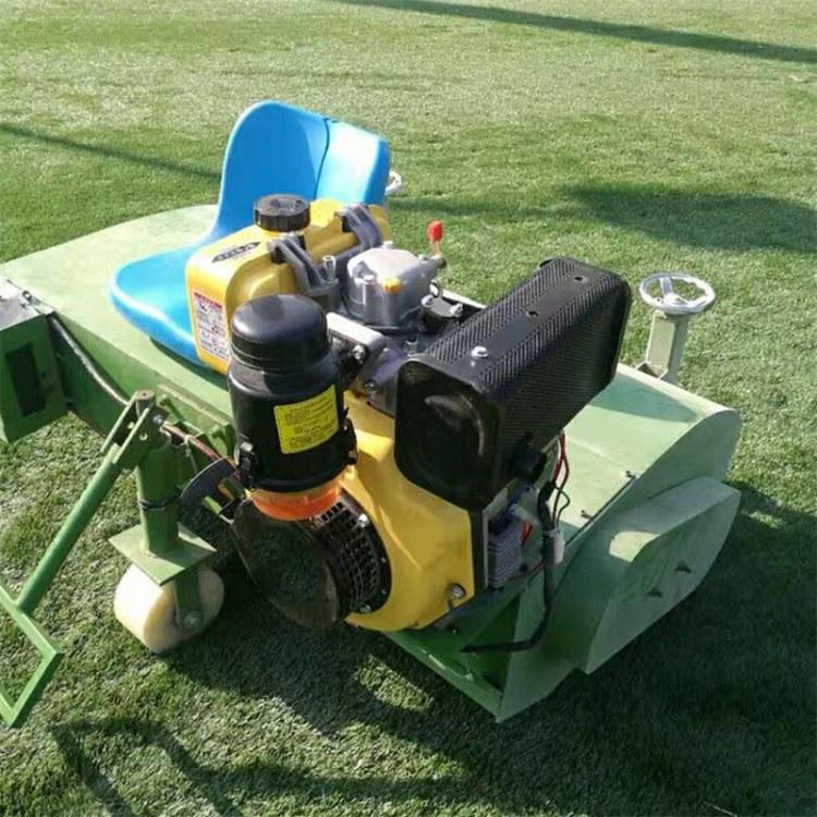 程煤人造草坪梳草机 汽油梳草机 电动刷草机