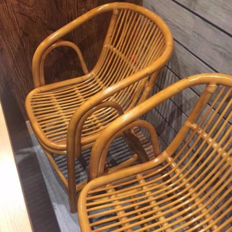 昌盛藤器 沙滩椅 休闲藤条椅 咖啡桌椅 藤家具 藤椅 藤器藤艺家具厂家批发