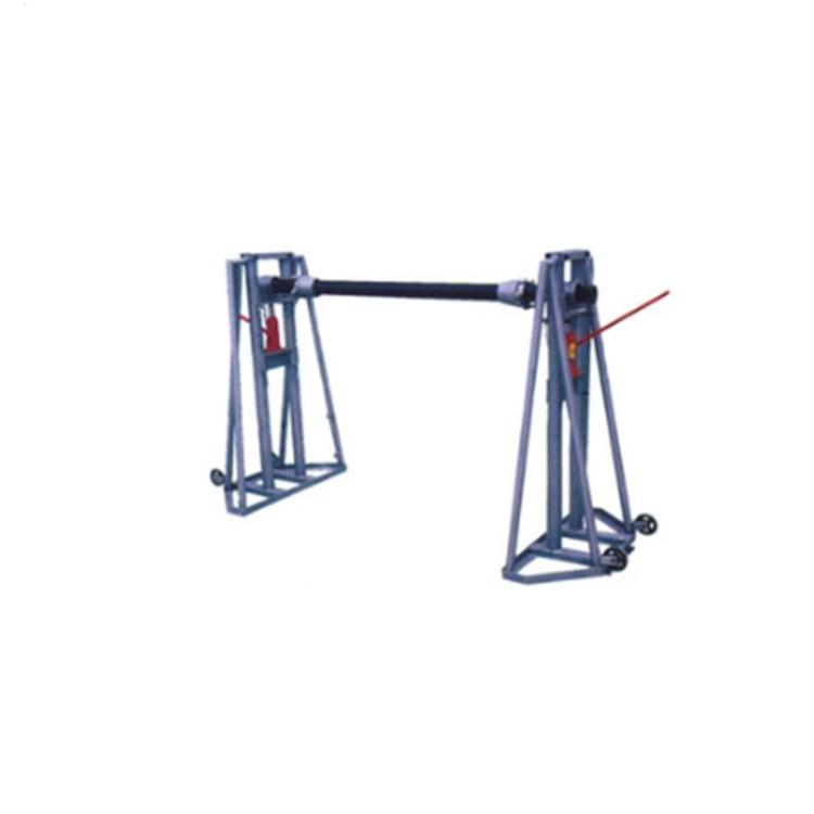 程煤电缆放线架 工程机械折叠式放线机 可调式液压放线工具