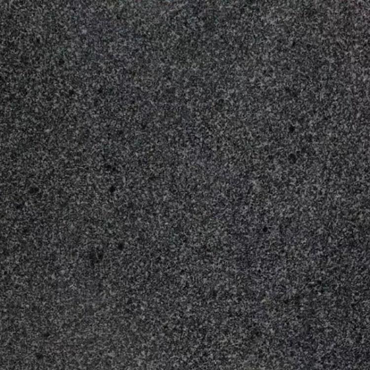 批发芝麻黑花岗岩光板 室外环境石材光板加工 北方芝麻黑厂家