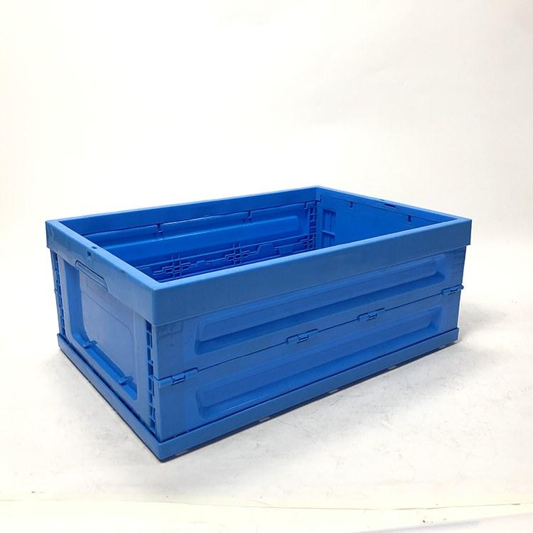 加厚折叠箱塑料周转箱物流箱子大号塑料胶框消毒餐具箱可带盖子