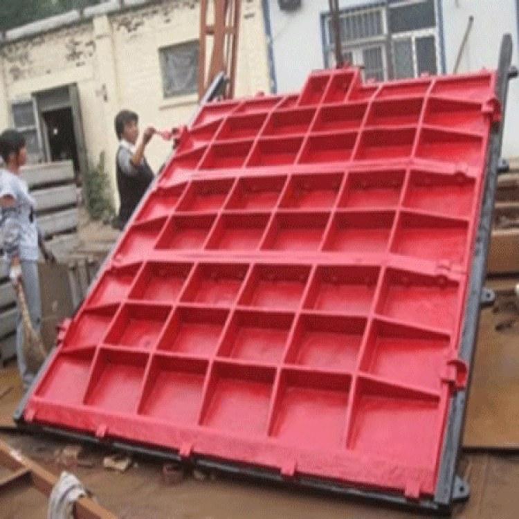 华硕 铸铁闸门 平面拱型铸铁闸门 支持定制