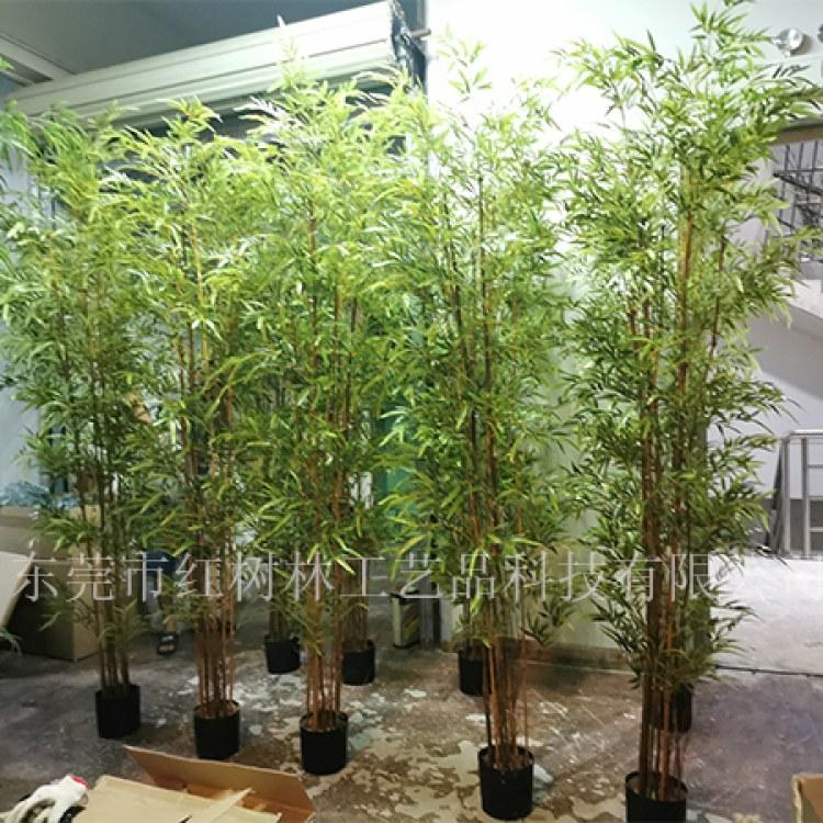 仿真竹子-竹子盆景-家居装饰仿真植物-假竹干盆栽-厂家批发直销