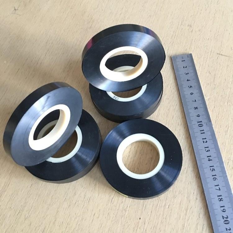 双向拉伸0.0125mm/0.020mm厚任间宽度黑色PI膜厂家直销