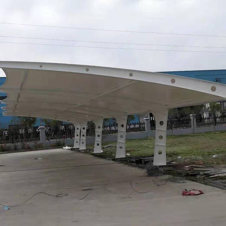 膜结构自行车棚厂家定制 鑫媛 江苏徐州膜结构雨棚厂家 质量可靠