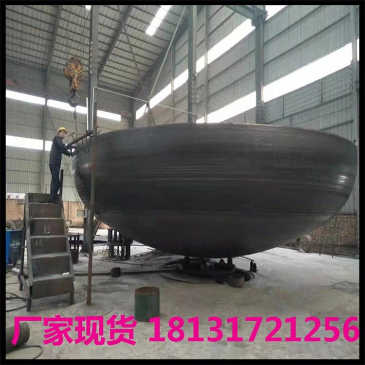 淦升 厚壁管帽加工定制 专业生产不锈钢 碳钢 椭圆DN200平底 大口径焊接管帽可定制