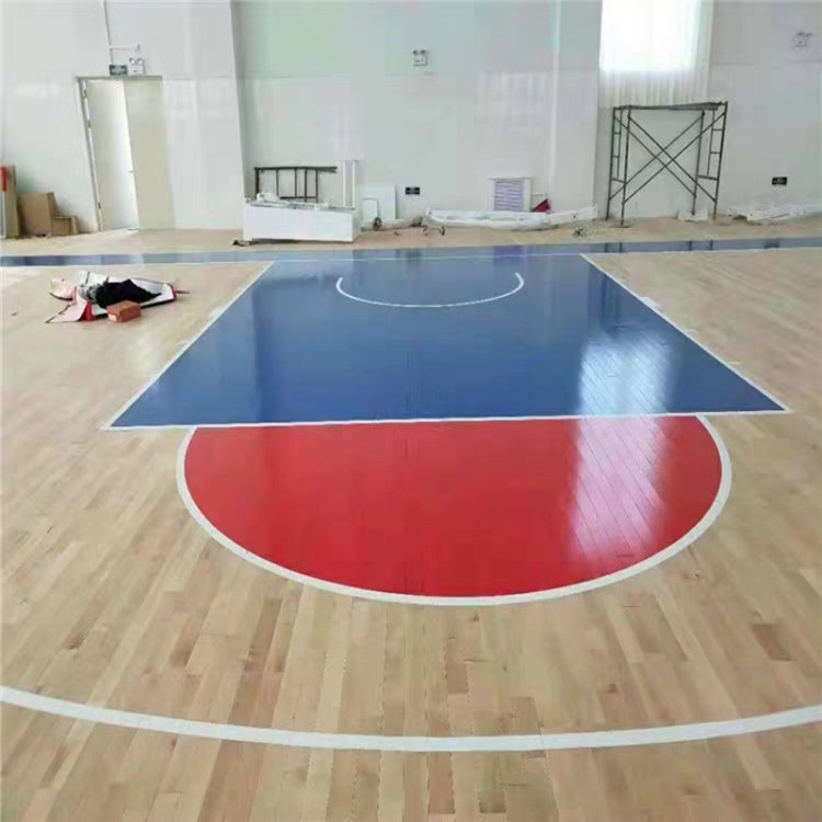 枫木B级运动实木地板 篮球场专用运动地板 质优价廉欢迎订购