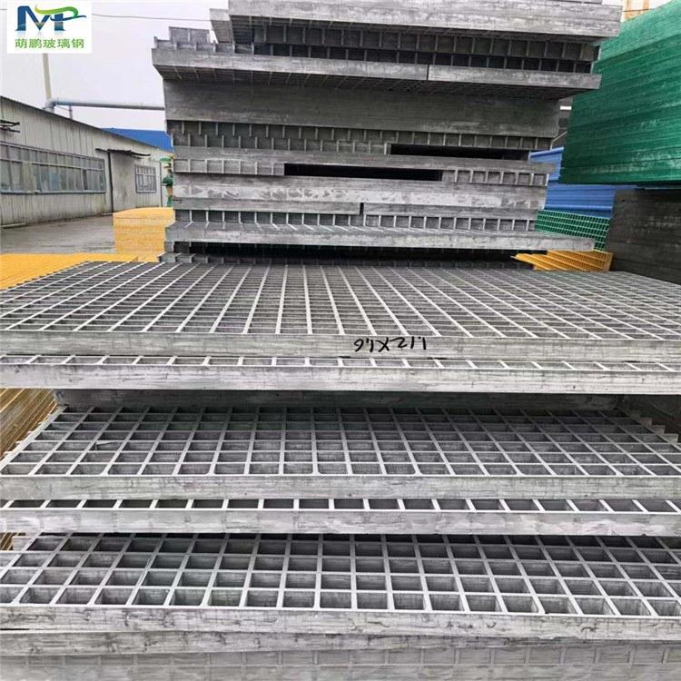 河北萌鹏厂家直销玻璃钢格栅 绿化除尘用树穴盖板