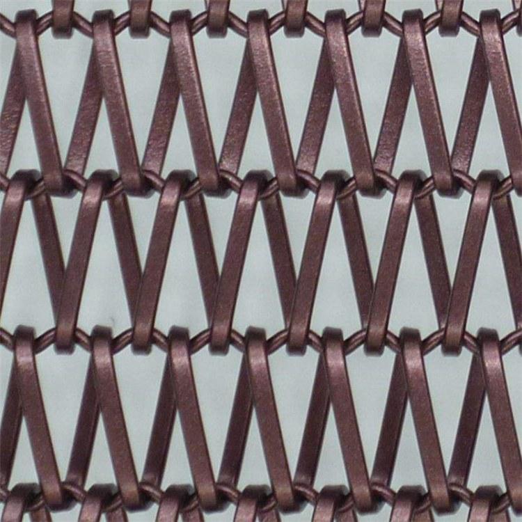 厂家专业订制生产电梯装饰金属网建筑外墙幕墙装饰网金属编织网 指导安装价格实惠