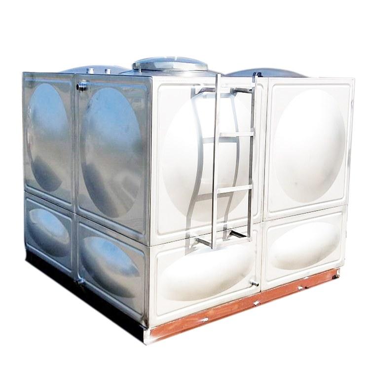 安徽芜湖箱泵一体化地埋式生活消防不锈钢保温水箱生产厂家直销 方形工业水箱永不渗漏