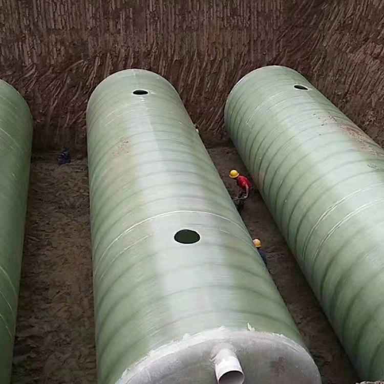 大量供应质量优的玻璃钢化粪池厂家  四川玻璃钢化粪池厂家