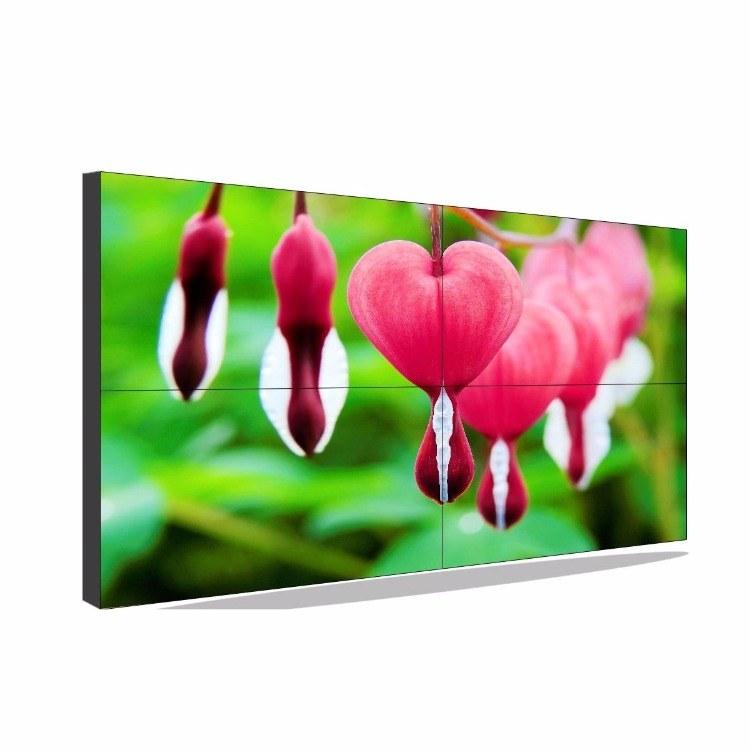 三星46寸液晶拼接屏3.5mm拼縫窄邊電視墻監控顯示屏