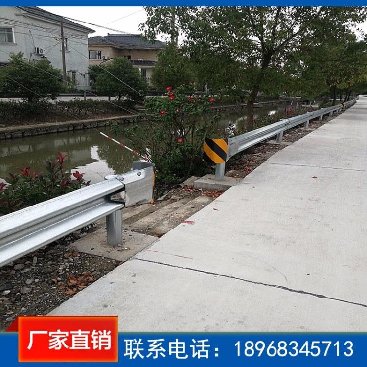 丰镇市高速公路波形护栏板 乡村马路防护栏 公路防撞护栏板安装