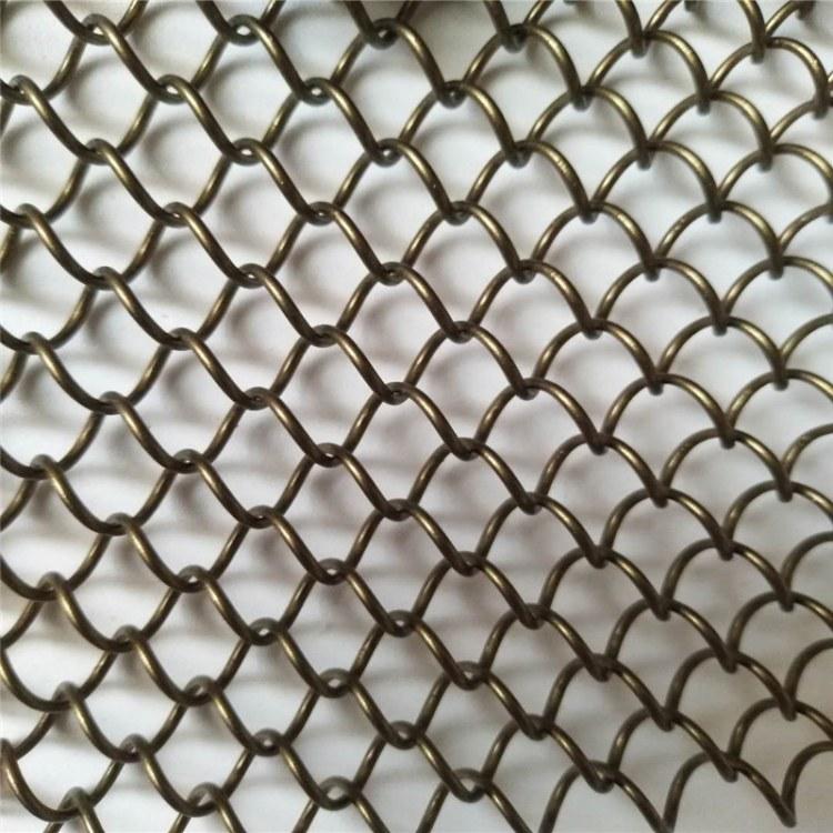 厂家专业订制生产电梯装饰金属网结构绳网屏风隔断装饰网 指导安装价格实惠
