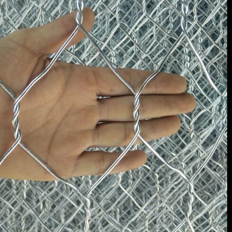 铅丝笼 耐腐蚀镀锌石笼网 包塑石笼网 专业订购厂家 网卷