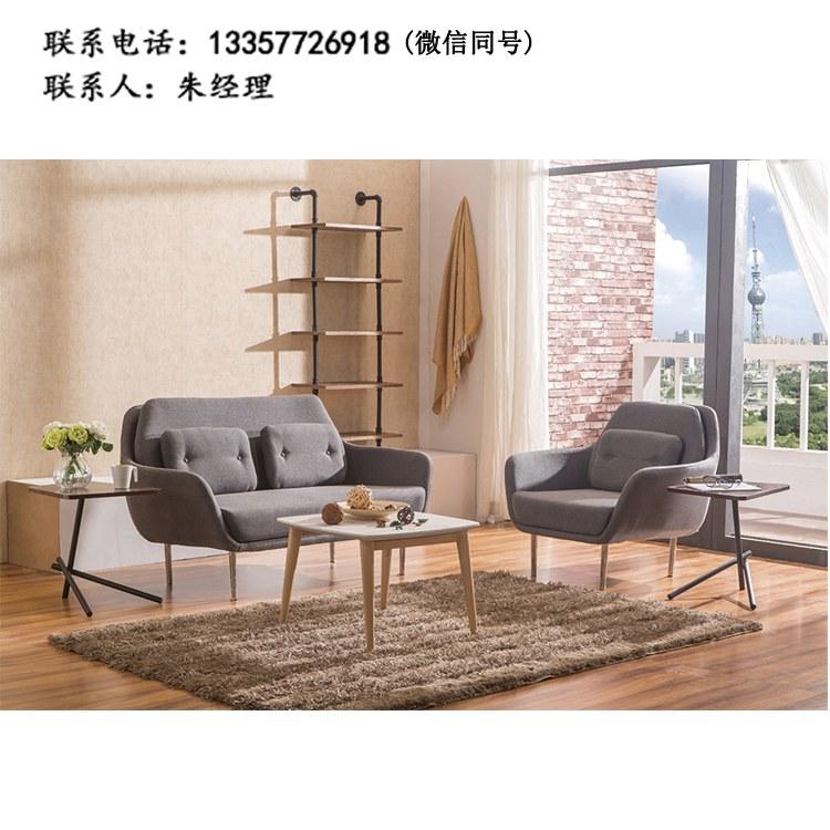 办公沙发定制组合 商务现代简约办公沙发 会客接待沙发 XY-01