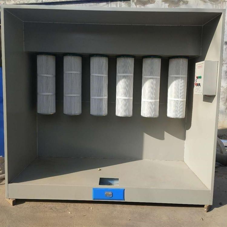 家旭厂家供应 吸尘柜 立式集尘柜 塑粉回收柜 粉尘回收机专业厂家直销