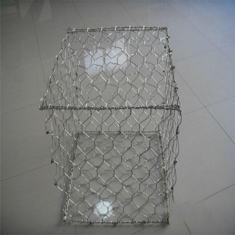 河道护坡挡墙 石笼网专业定制厂家 装石头笼子 石笼网箱