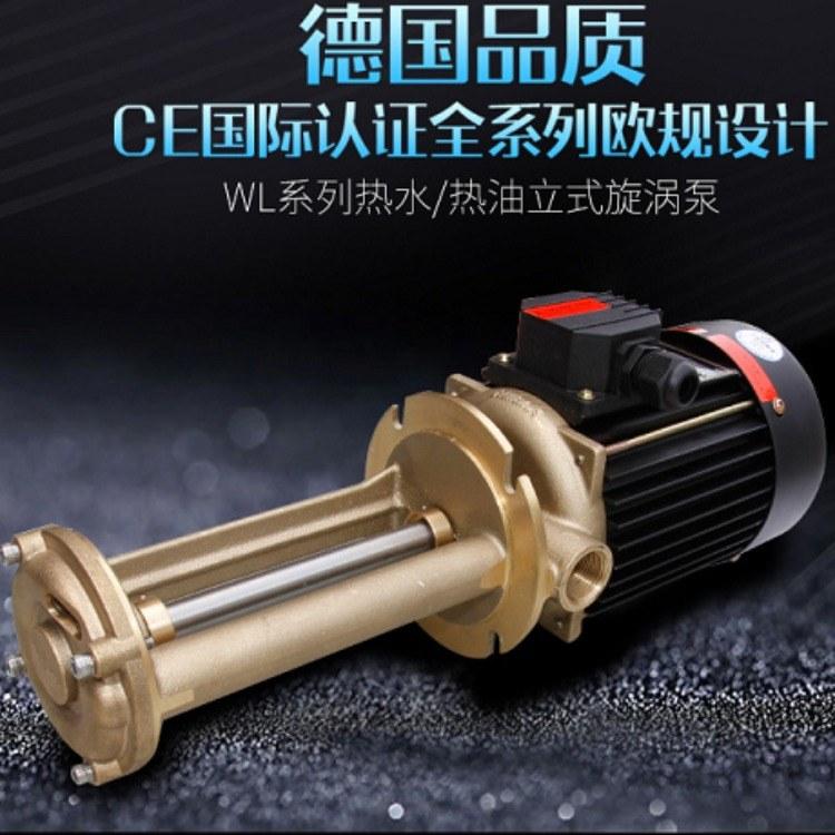 WL系列立式旋涡泵 奥兰克供应 橡胶设备专用泵 精密机床冷却泵立式泵