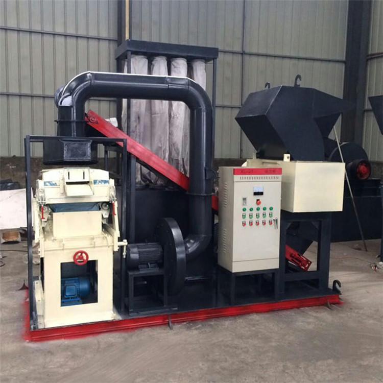 铜米机报价 杂线铜米机设备 铜线粉碎机厂家直销 干式分离机报价