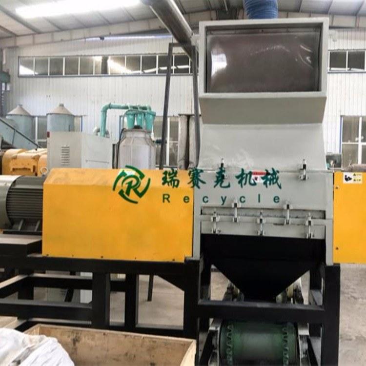 瑞赛克废旧轮胎处理生产线中橡胶粉碎机与轮胎颗粒加工工艺的产品说明