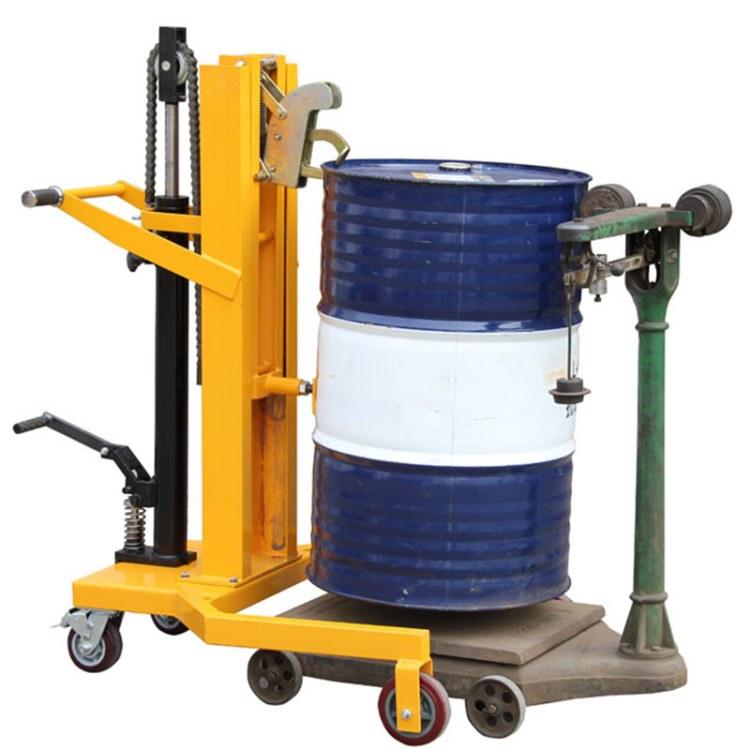 程煤油桶堆高车 托盘液压油桶车直销 DTF450A堆高车