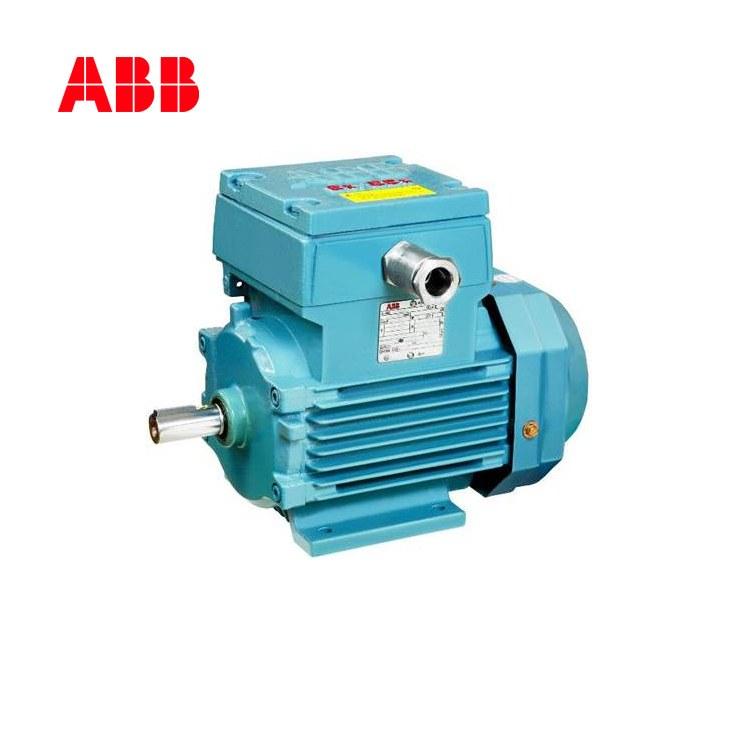 ABB防爆电机3KW M2JA100L4B卧式1440转系列危险环境用隔爆型三相异步马达现货供应厂家
