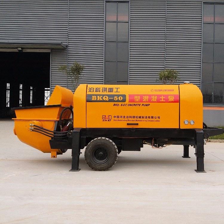 小型细石输送泵 二次结构细石输送泵 泊科琪厂家 售后保障
