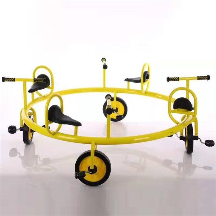 博康生产  儿童玩具 儿童小型玩具 四人转椅 厂家价格