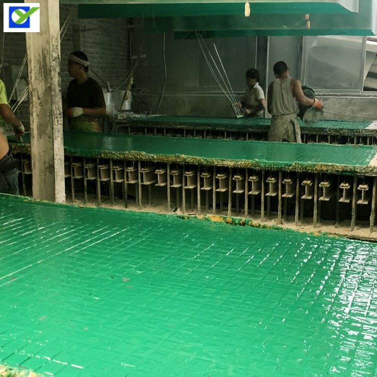 河北欧意化工厂洗车房格栅板 汽车美容店洗车位格栅 排水沟玻璃钢盖板价格