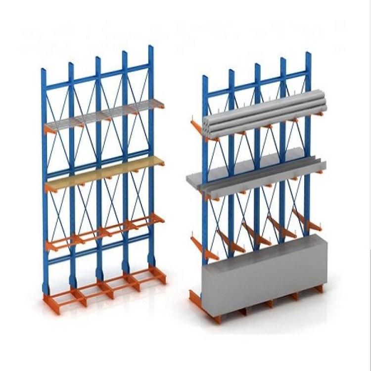 悬臂货架 生产厂家 森沃仓储 非标定制 木材管材悬臂货架