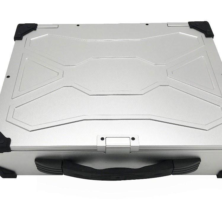 兴扬新品全铝合金机箱 氧化工艺 一体机机箱 工控笔记本机箱价格