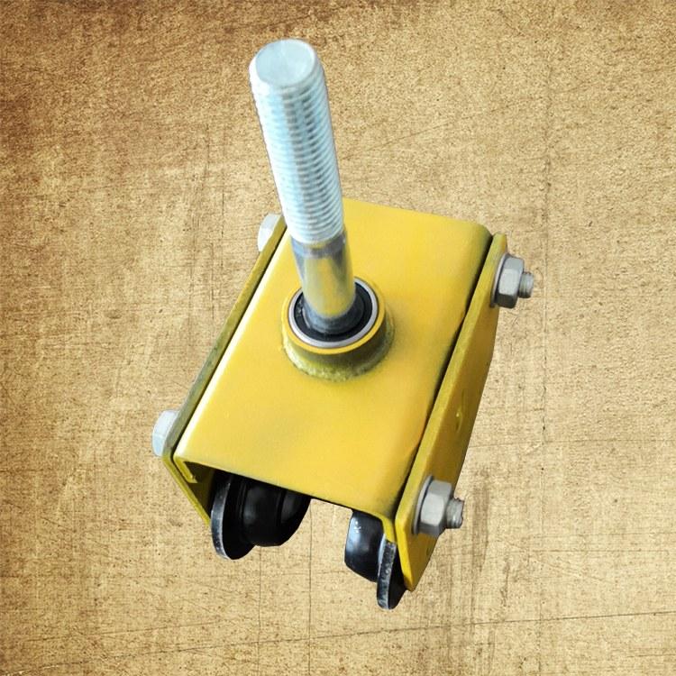 硕利门窗 加重型万向吊轮 重型工业门吊轮 加重镀锌吊轮