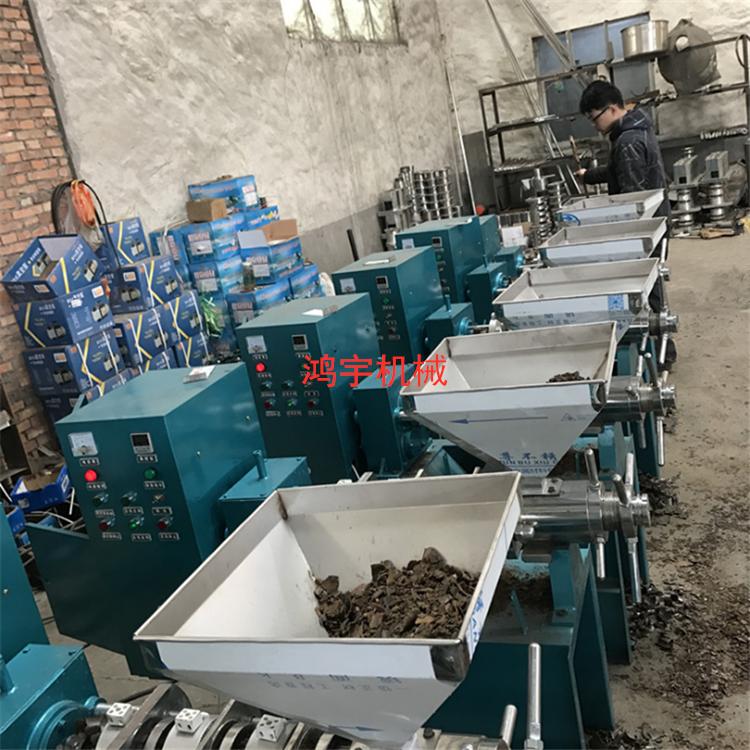 安徽螺旋榨油机菜籽榨油机葵花籽榨油机多功能榨油机