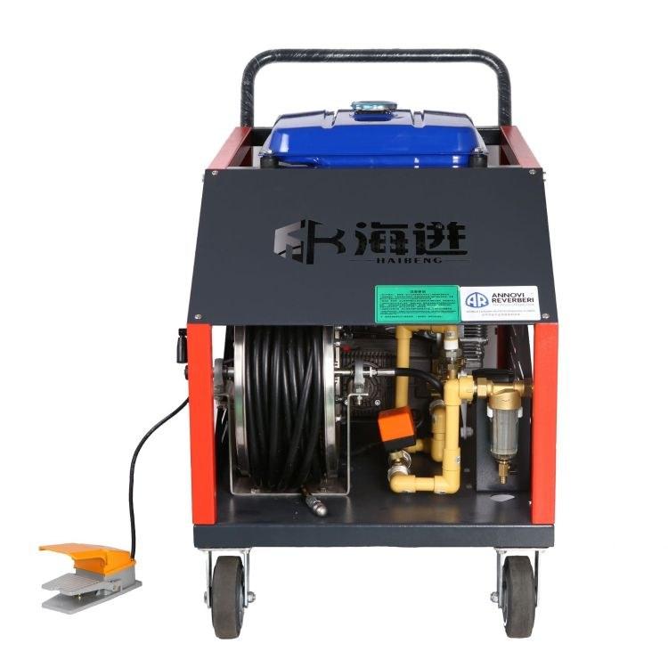 工业高压清洗机电动500公斤压力380V化工反应釜冷凝器高压清洗机