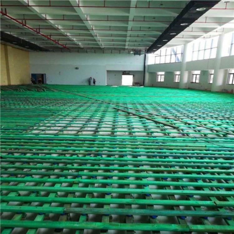 央视上榜运动木地板篮球馆木地板专用 防水耐磨 实木厂家直供
