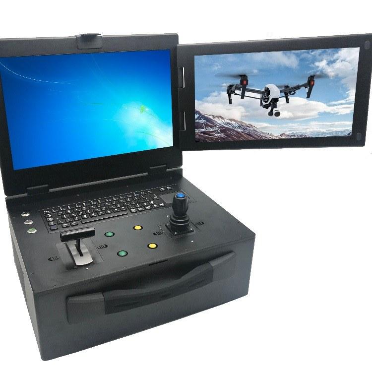 兴扬厂家直销全新双屏便携式工控机 双屏工控便携式机箱定制