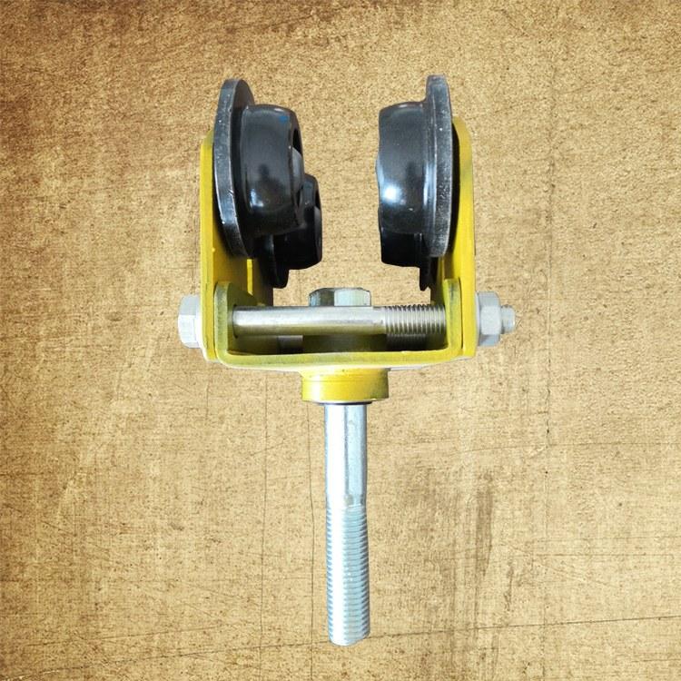硕利门窗 直销 各种加重吊轮 重型工业门吊轮 镀锌吊轮 加重镀锌吊轮