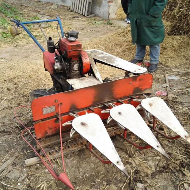 程煤割晒机 4GL210 自动收割捆机 手推稻麦收获机厂价直销