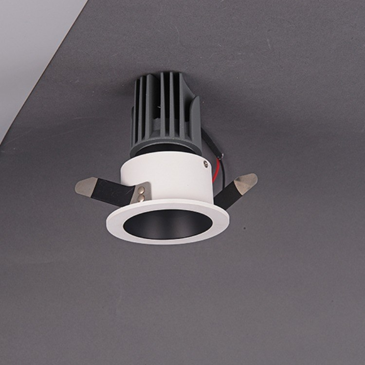 佛山柯迅厂家 新款酒店商场 办公LED射灯 COB射灯 店铺LED灯 嵌入式筒灯