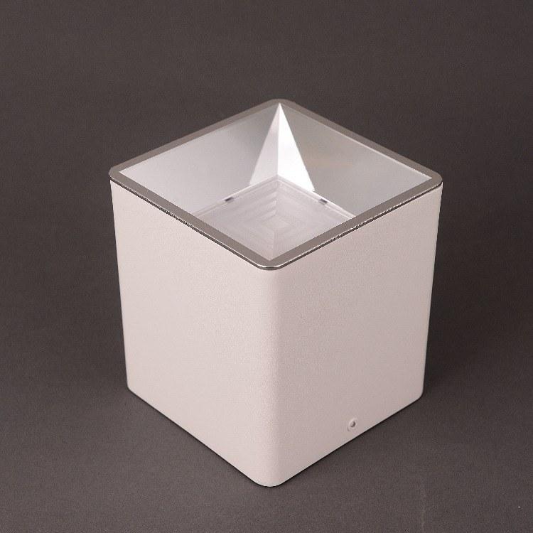 佛山柯迅厂家直销 明装方形COB筒灯 办公简约装饰方形LED筒灯