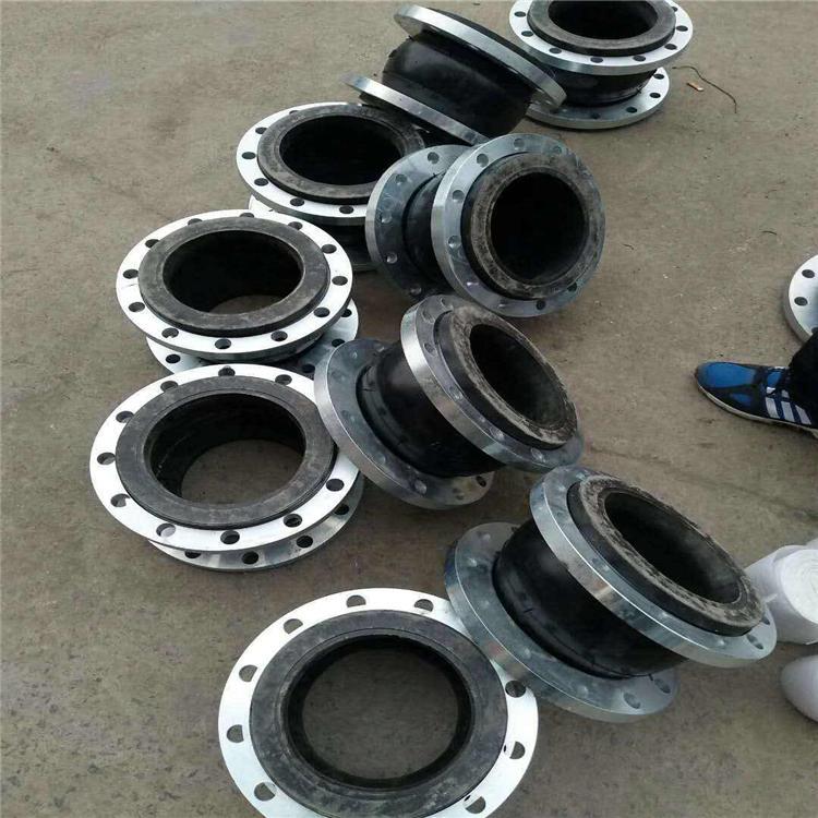 实体厂家直供 耐高温橡胶接头 翻边橡胶接头 橡胶橡胶软接头 价格合理沧州维恩DN20-DN2000