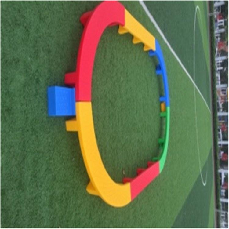 博康生产  户外玩具 儿童户外玩具  椭圆形独木桥 厂家价格