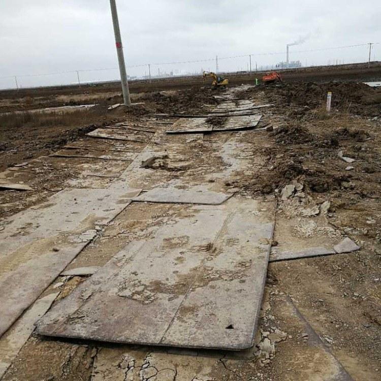 安庆迎江铺路钢板出租土石方临时路面加固