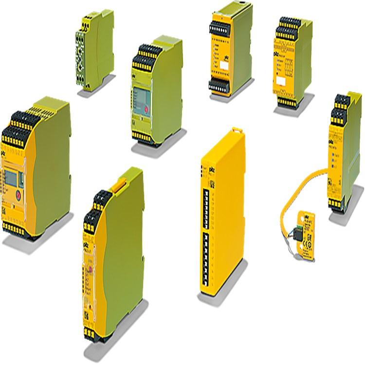德国进口PNOZ型安全继电器 PILZ皮尔兹PLC控制器 原装控制模块供应商
